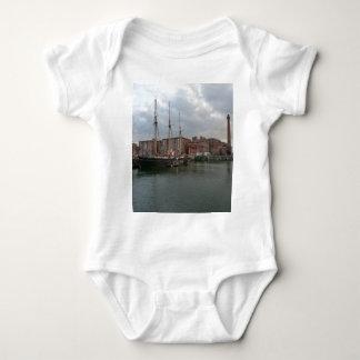 Liverpool's Albert Dock Baby Bodysuit