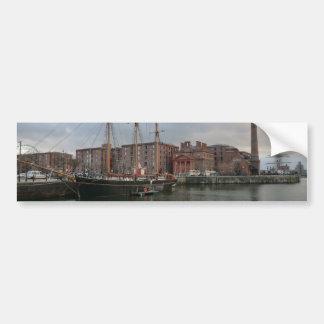 Liverpool's Albert Dock Bumper Sticker