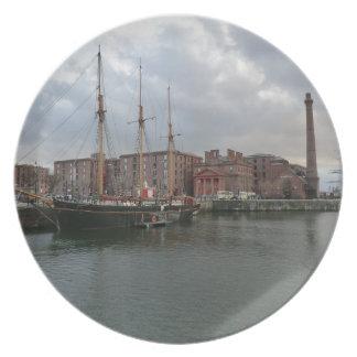 Liverpool's Albert Dock Plate