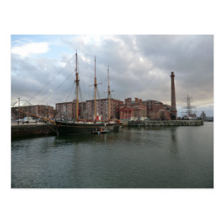 Liverpool's Albert Dock Postcard