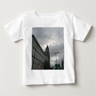 Liverpool's Strand Street with Liver Bird Baby T-Shirt