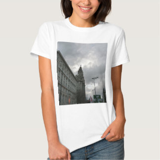 Liverpool's Strand Street with Liver Bird T Shirt