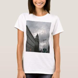 Liverpool's Strand Street with Liver Bird T-Shirt