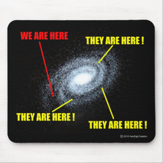 Lives in Galaxy Mouse Pad
