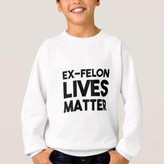 Lives Matter - White Sweatshirt