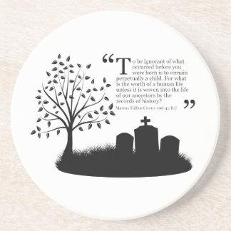 Lives Of Our Ancestors Drink Coaster