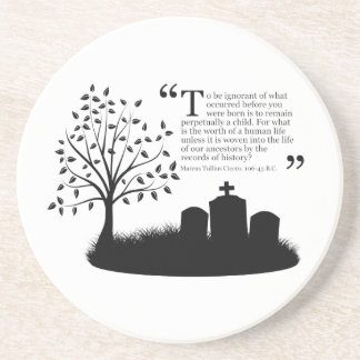 Lives Of Our Ancestors Drink Coasters