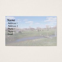 Livestock Landscape Business Card