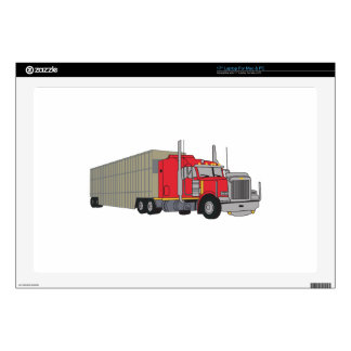 "Livestock Truck Decal For 17"" Laptop"