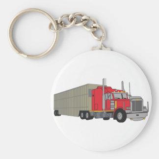 Livestock Truck Keychain
