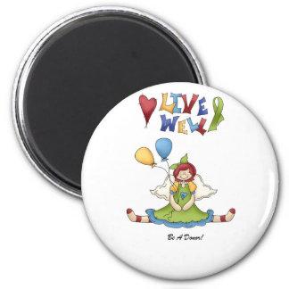 livewell2 refrigerator magnet