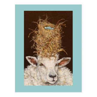 Livin alto en la postal de las ovejas