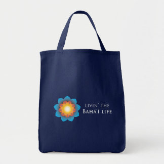 Livin Bahá í Life Canvas Bag