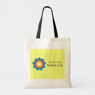 Livin Bahá í Life Canvas Bags