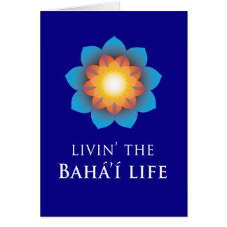Livin' Bahá'í Life Card