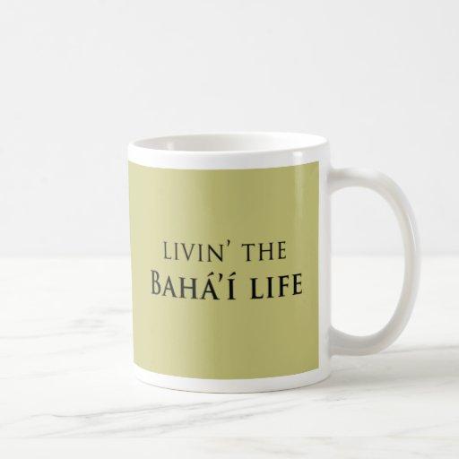 Livin' Bahá'í Life Mugs