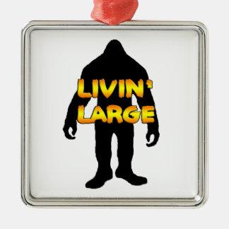 Livin Bigfoot grande Ornamentos De Navidad
