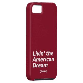 Livin el sueño americano iPhone 5 carcasas