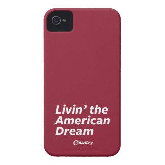 Livin el sueño americano Case-Mate iPhone 4 cárcasas