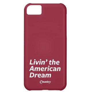 Livin el sueño americano funda para iPhone 5C
