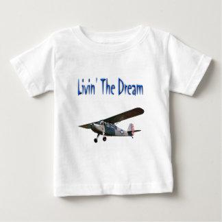 Livin el sueño, campeón playera de bebé