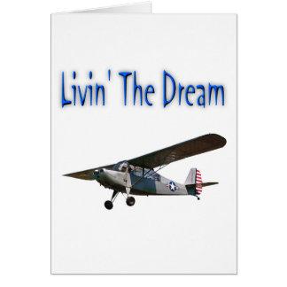 Livin el sueño, campeón tarjeta de felicitación