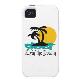 LIVIN EL SUEÑO iPhone 4/4S FUNDA