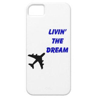 Livin el sueño iPhone 5 carcasas