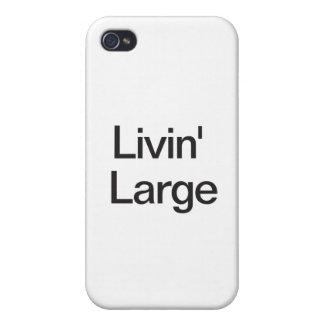 Livin grande iPhone 4 fundas
