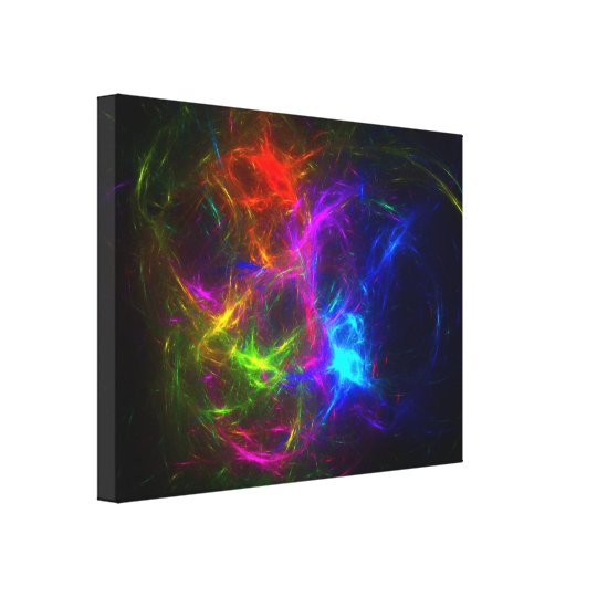 Livin' in a Raver's Paradise Canvas Print