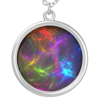 Livin' in a Raver's Paradise Round Pendant Necklace