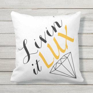 Livin' It LUX Diamond Throw Pillow