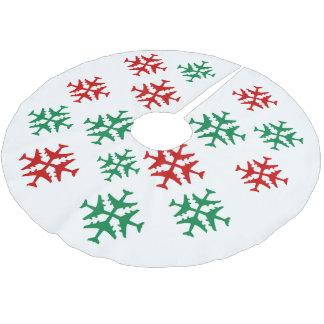 Livin la falda ideal del árbol falda para arbol de navidad de poliéster