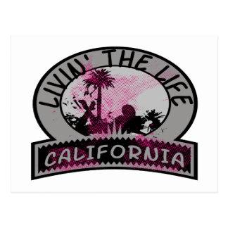 Livin la vida de California Postales