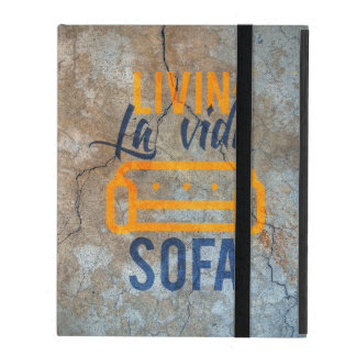 Livin' la vida sofa iPad case