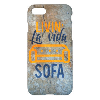 Livin' la vida sofa iPhone 7 case