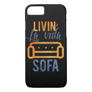Livin' la vida sofa iPhone 8/7 case