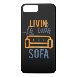 Livin' la vida sofa iPhone 8 plus/7 plus case