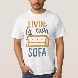 Livin' la vida sofa tee shirt