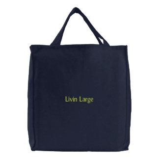 Livin Large Canvas Bag