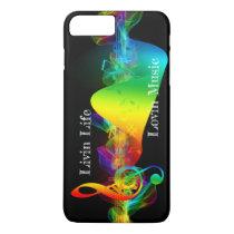 Livin Life Lovin Music iPhone 8 Plus/7 Plus Case