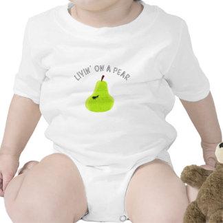 Livin On A Pear Baby Bodysuit