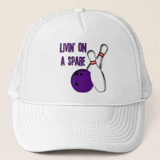 LIVIN' ON A SPARE TRUCKER HAT