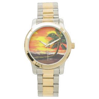 Livin' On ALoha Time Wristwatch