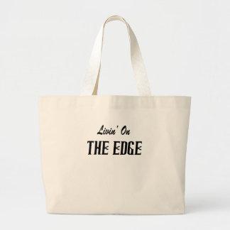Livin On The Edge Tote Bag