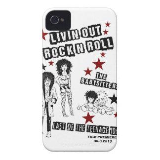 LIVIN OUT ROCK N ROLL FILM PREMIERE MERCHANDISE iPhone 4 CASE
