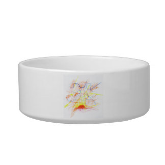 Livin' the brighter Days Pet Food Bowl