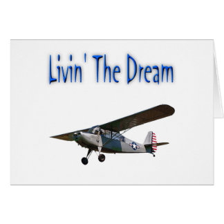 Livin' The Dream, Champ Greeting Card