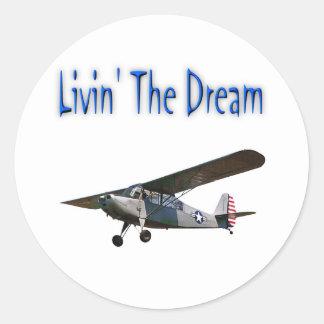 Livin' The Dream, Champ Classic Round Sticker