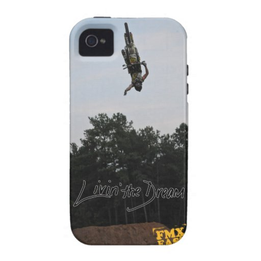 Livin the dream (Clint) i phone 4 case Vibe iPhone 4 Case